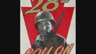 28th infantry division roll on