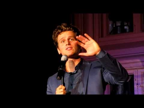 """Jonathan Groff Singing """"The Lonely Goatherd"""" from The Sound of Music Live at The Cabaret"""