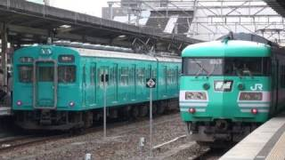 JR西日本では普通列車用車両の単一塗装化を進めていますが、和歌山地方...