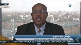 عبدالمنعم أبو إدريس: الصراع بجنوب السودان ليس بين جيوش نظامية (فيديو)