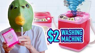 Anh Đầu Cá review Máy Giặt Mini Đồ Chơi giá 46k