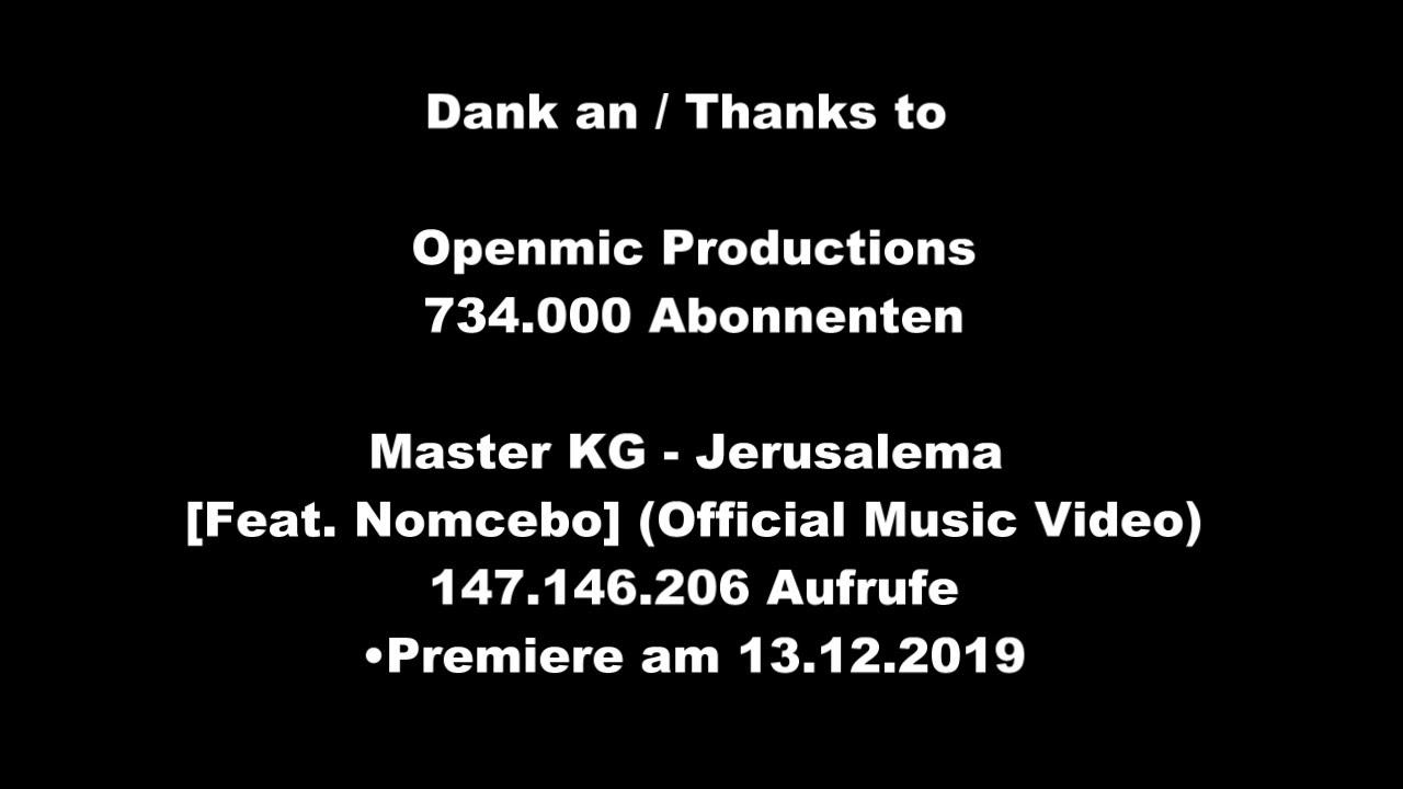 Master KG   Jerusalema  Feat  Nomcebo Official Music Video  Musik bearbeitet