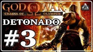 "God of War Chains of Olympus Detonado Parte 3 "" Templo de Helios """