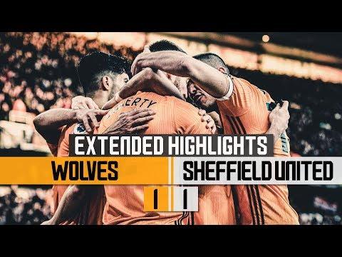 Nine games unbeaten! Wolves 1-1 Sheffield United | Extended Highlights