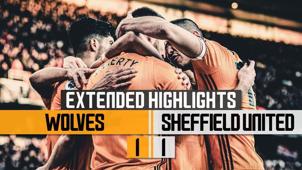 Nine Games Unbeaten Wolves 1 1 Sheffield United