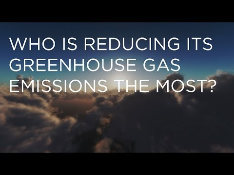 Who Is Reducing Its Greenhouse Gas Emissions the Most?