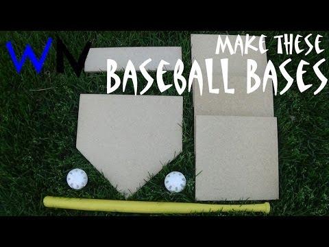 How to Make a Set of Baseball Bases!