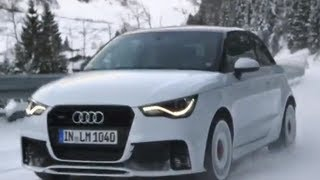 2013 audi a1 quattro review in detail commercial snow driving carjam tv car tv show