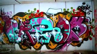 Finnish Graffiti #2, Abandoned factory in Espoo (URBAN EXPLORATION)