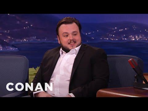 John Bradley On The Craziest Jon Snow Theories  - CONAN on TBS