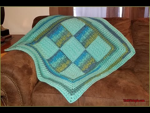 Crochet Tutorial: Woven Dreams Baby Blanket