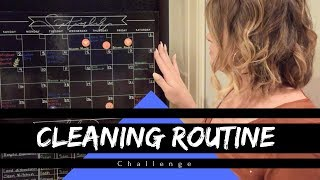 CLEANING ROUTINE || CHALLENGE