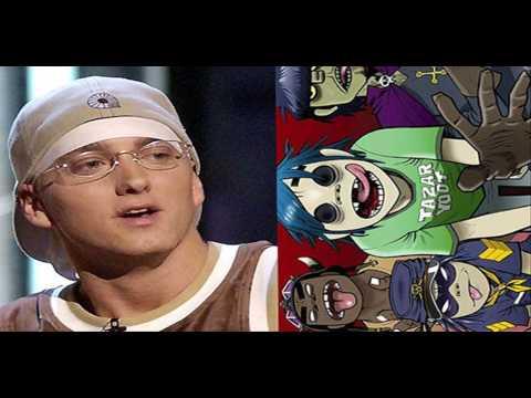"""Mash Up: Eminem's """"Mocking Bird"""" Vs. Gorillaz's """"November Has Come"""""""