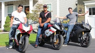 Racing with $170,000 worth of Superbikes!!!