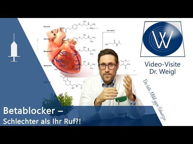Betablocker - Wirkung & Nebenwirkungen   Blockade der ß-Rezeptoren bei Angst, Migräne, Bluthochdruck