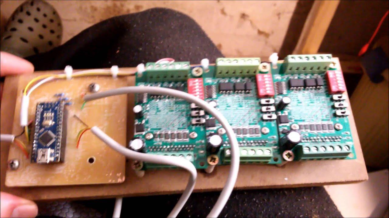 pcb cnc fr se selber bauen arduino nema17 auf tb6560. Black Bedroom Furniture Sets. Home Design Ideas