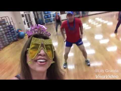 Last Zumba Friday of 2017 with Lily