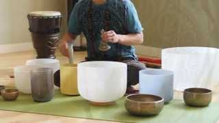 Sound Healing Alchemy - Crystal and Himalayan Singing Bowls