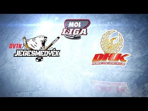 DVTK Jegesmedvék - Debreceni HK | MOL Liga | 2016.02.26.