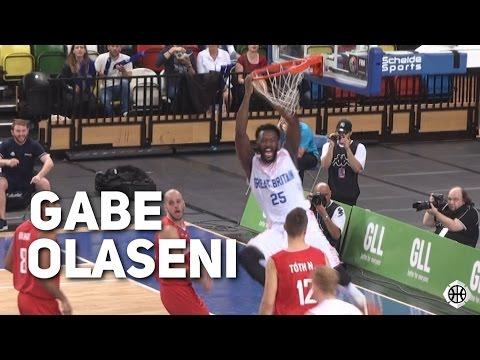 Gabe Olaseni Drops 17 Points On 8/8 Shooting! GB Vs Hungary Eurobasket 2017 Qualifier