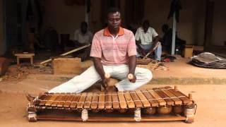 cours de balafon guinéen - Adama Diabaté