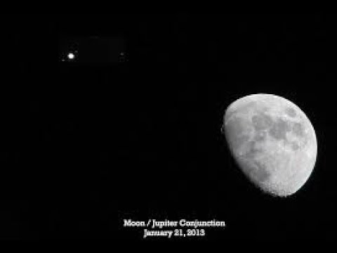 468 - Zoom To Moon + Jupiter + P900 + Nice View - July 20 2018