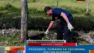 NTG: EXCLUSIVE: Pagsabog, yumanig sa Tacurong, Sultan Kudarat