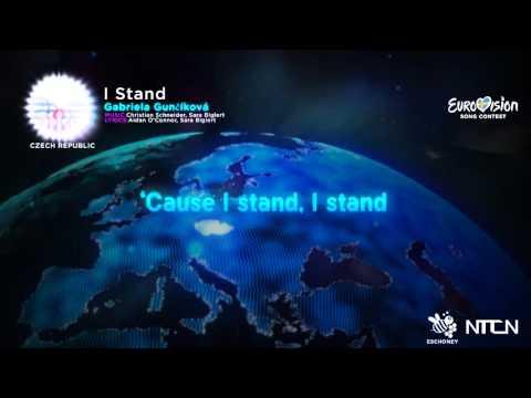 Gabriela Gunčíková-I stand (Czech Republic) Eurovision 16 Lyrics