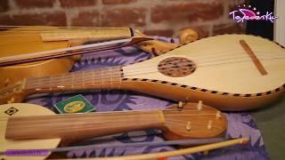 Laterna magica и средневековые музыкальные инструменты