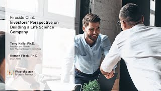 Investors' Perspective on Building a Life Science Company- Innovation in Research 2019