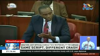 Senate slams government for the ordinary reactionary measures after road tragedies