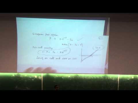 Intro to portfolio management and exchange traded derivative 4-11-2015 Part I