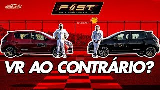 Volta Rápida invertida de Sandero R.S e muito mais! Veja o que rolou no FAST powered by Shell (Pt.1)