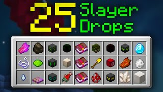 How I Got ALL 25 Slayer Drops (Hypixel Skyblock)
