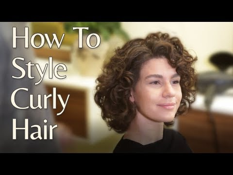 How To Style Curly Hair Quick And Easy Phillip Adam Blog