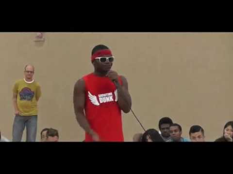 Showtimedunk performs at Nea Community Learning Center.