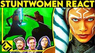 Stuntmen React To Bąd & Great Hollywood Stunts 29