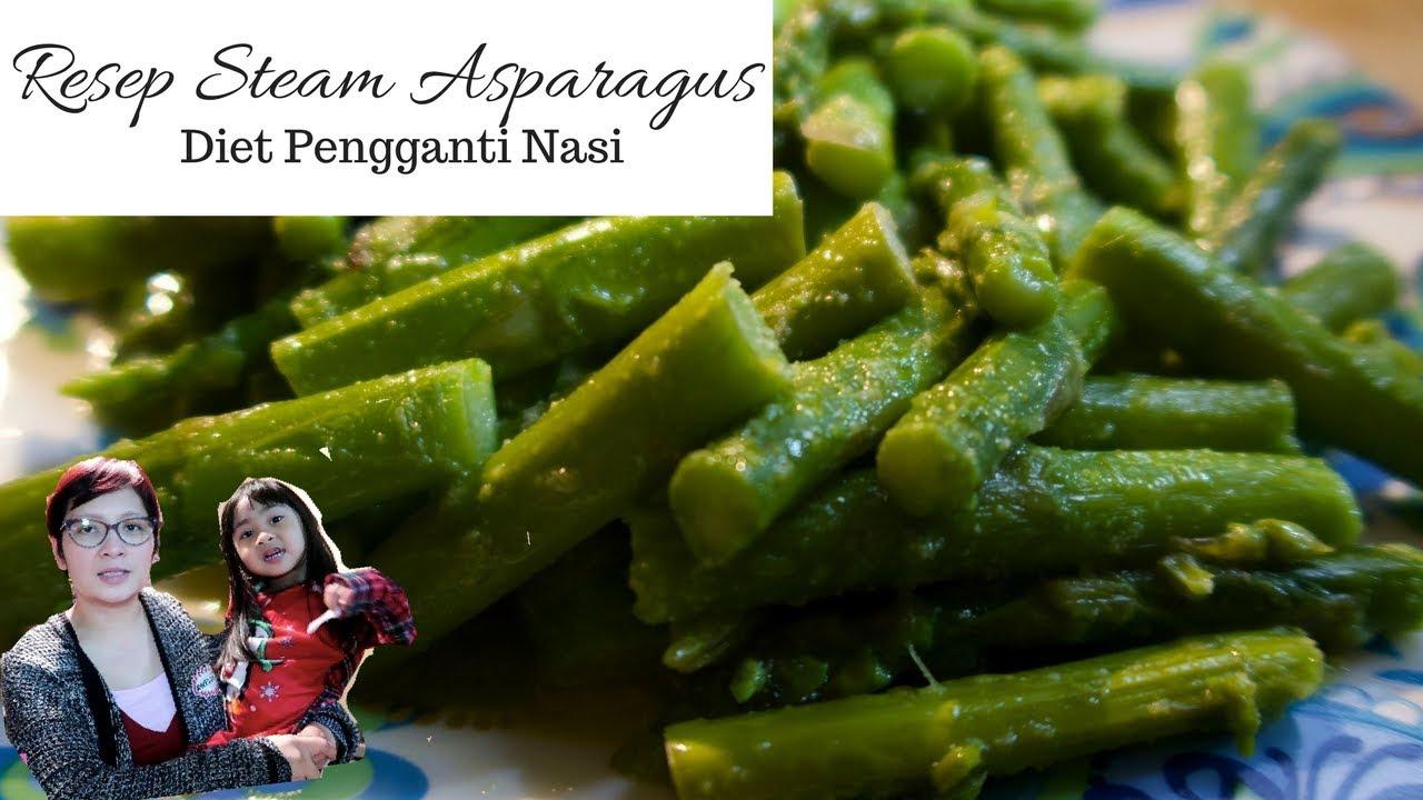 Ayu Lk Vlog Resep Asparagus Diet Pengganti Rice Youtube