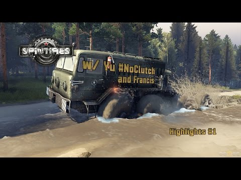 I HAVE NO LICENCE - Spintires Highlight #1 @1080p/60fps