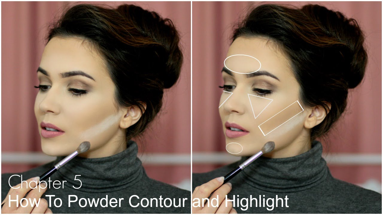 How to contour and highlight face nose cheeks youtube baditri Image collections