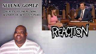 Selena Gomez Reacts to Wizards of Waverly Place Theme - NTX React's