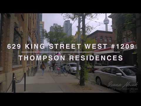 629 King St W 1209 | Toronto | Ivana Novak | Thompson Residences | SOLD