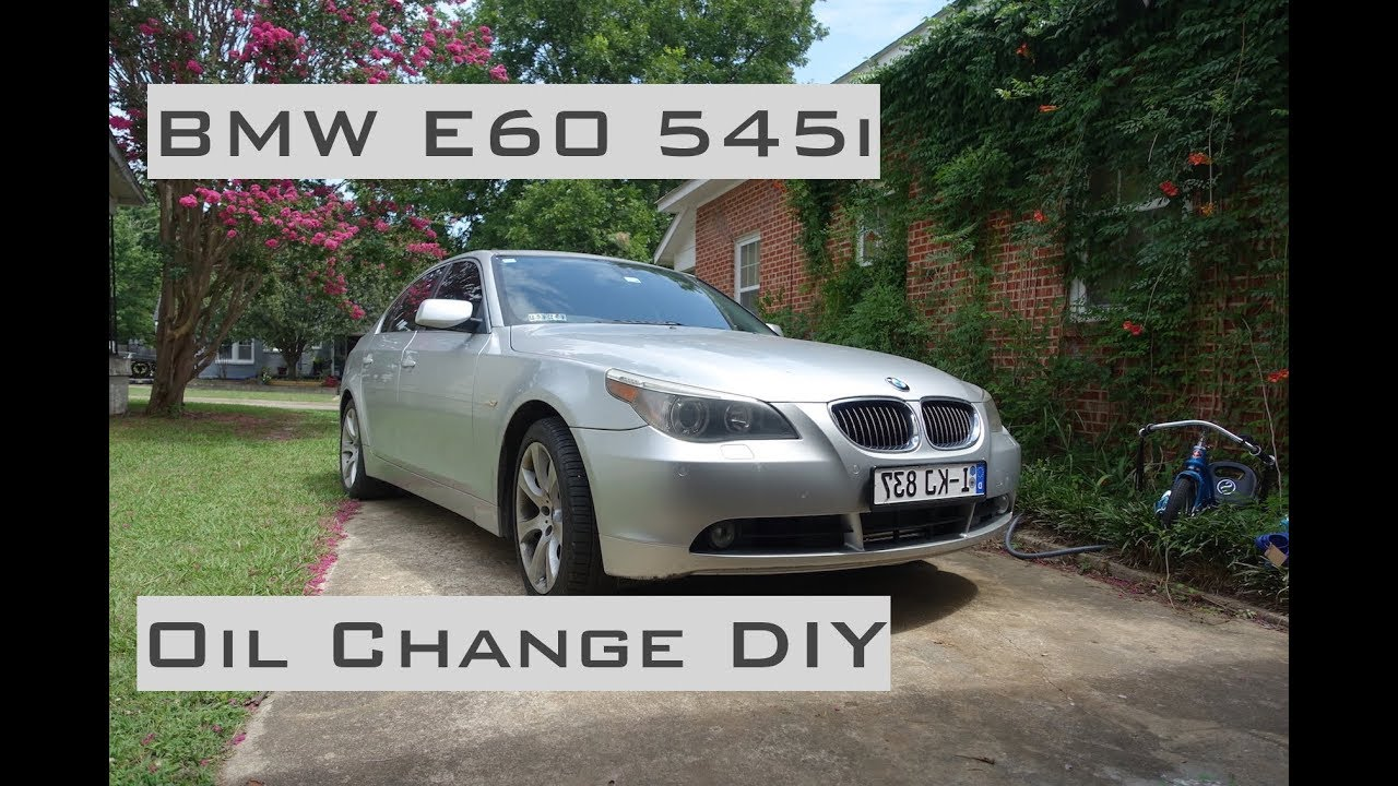 Bmw 545i oil change diy 2004 2005 youtube bmw 545i oil change diy 2004 2005 solutioingenieria Image collections