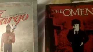The Omen and Fargo Blu-ray steelbooks