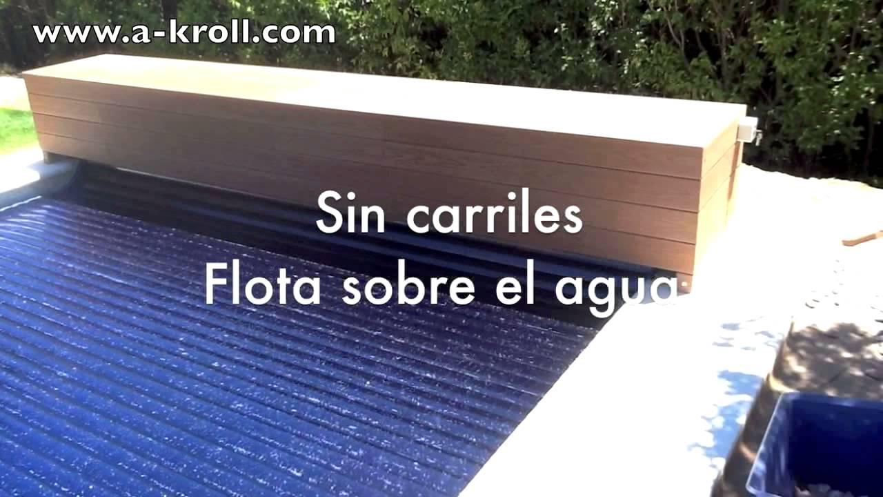 Charming Cubierta Solar Y De Seguridad Para Piscina Instalada En Madrid España
