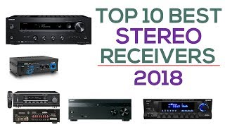 Top 10 Best Stereo Receivers 2018