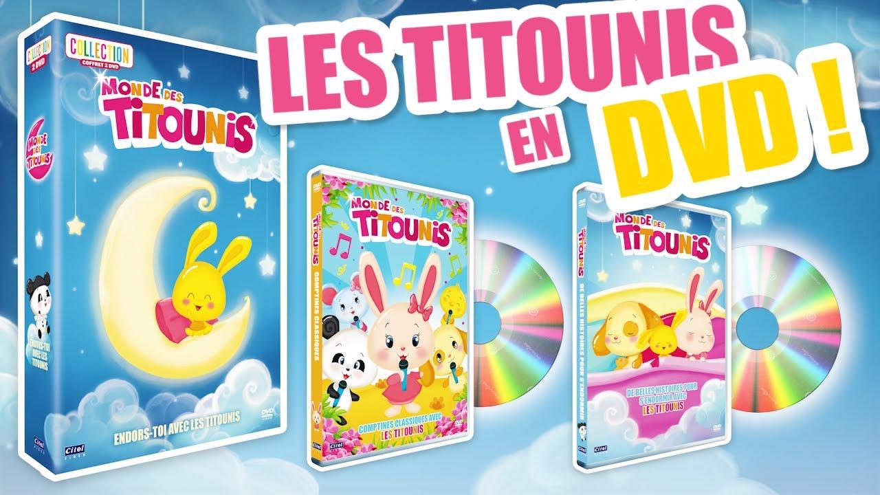 NOUVEAU ! DVDs des Titounis | Comptines et chansons | Enfants Bébés