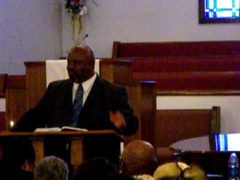 """Red Oak United Methodist Church""""s Pastor Fert Richardson 7-4-10 Pt 1"""
