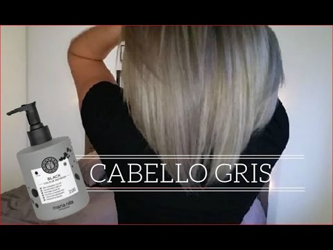 DIY Cabello gris sin tinte | how to get grey hair tutorial (English subtitles) thumbnail
