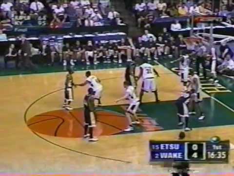 ETSU vs Wake Forest - 2003 NCAA Tournament - Pt 1